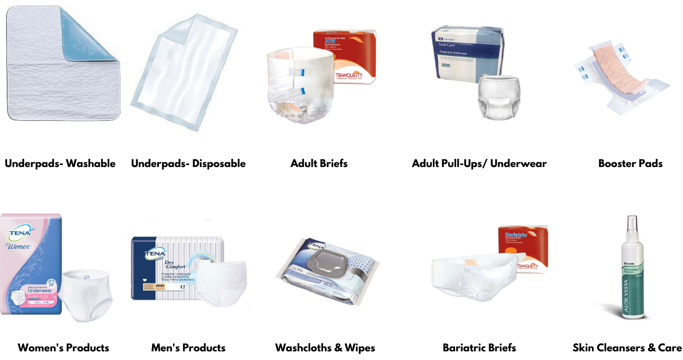 Incontinence products